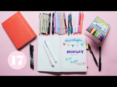 The Best Pens to Journal With | Plan With Me
