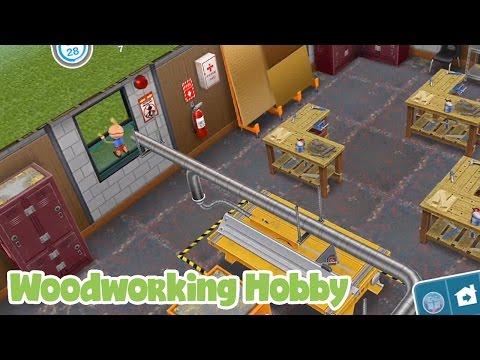 The Sims Freeplay Woodworking Hobby