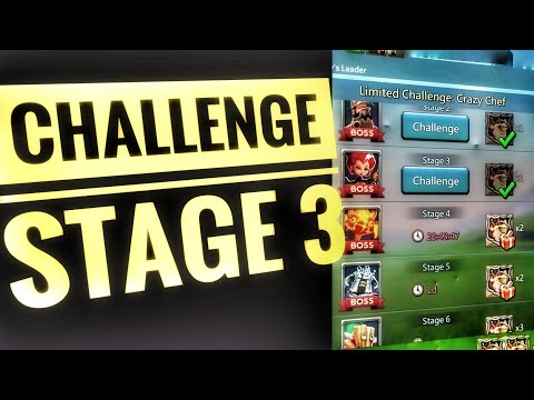 Lords Mobile - Limited Challenge Stage 3