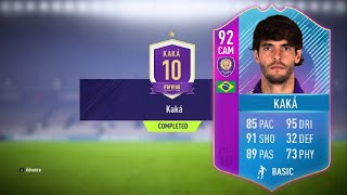 FIFA 18: 92 KAKA END OF AN ERA SBC COMPLETED CHEAPEST WAY!