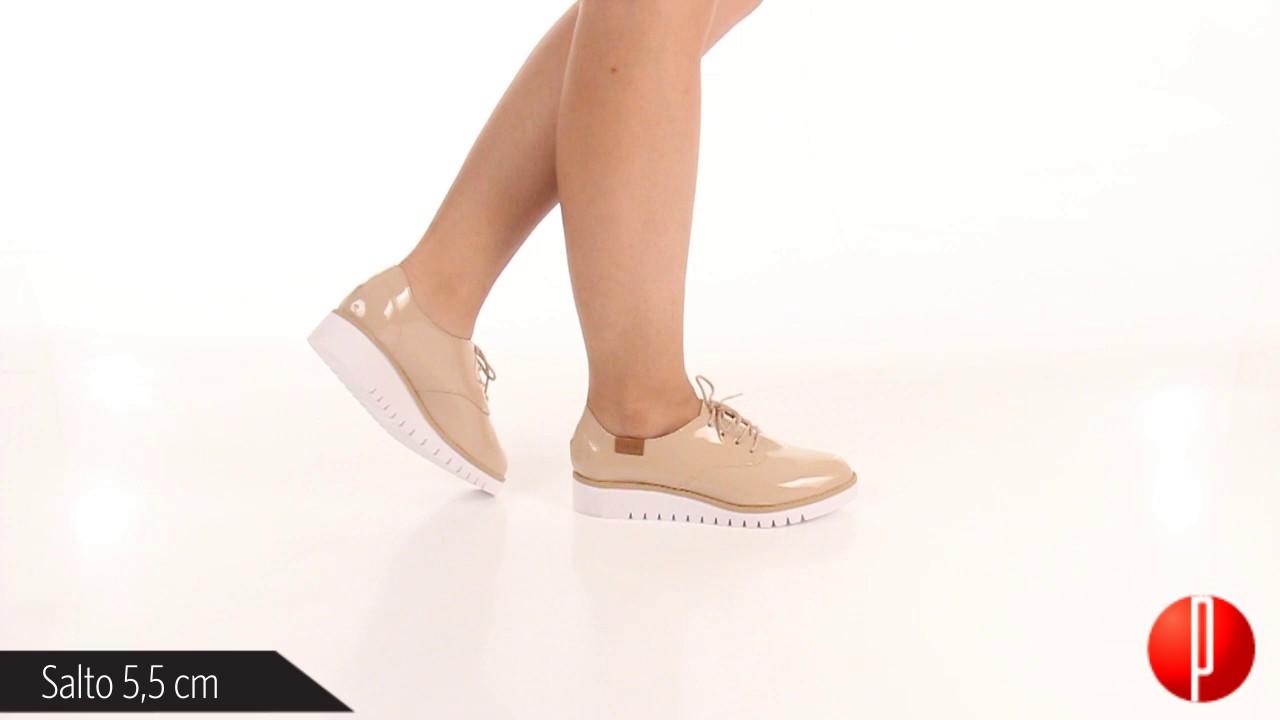 8f1266e2ab Sapato Oxford Feminino Beira Rio - 6060370785 - YouTube