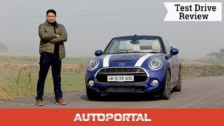 Mini Cooper S Convertible Test Drive Review - Autoportal