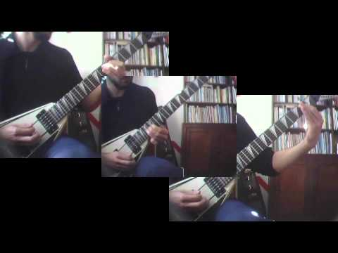 Machine Head - I am Hell (Sonata in C#) (guitar cover)