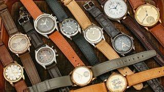 Vintage Omega, Rolex, Seiko Watch Shopping at flea market in Hong Kong China