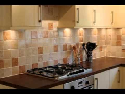 Kitchen wall tile design ideas youtube for Designs of tiles for kitchen
