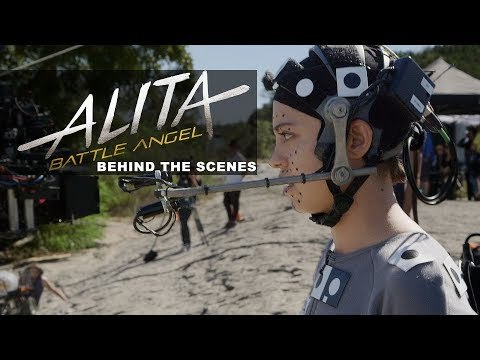 'Alita: Battle Angel' Behind The Scenes