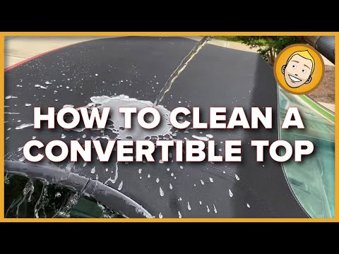 How To CLEAN AND WATERPROOF A CONVERTIBLE TOP | DIY For My Porsche Boxster 986