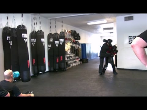 Krav Maga - Fight Class - April 1, 2017 (Head Tie-Up/UnderHook/Pinch Headlock)