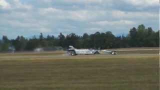 Smoke n' Thunder Jet Car vs. Tim Weber - JBLM Air Expo 2012
