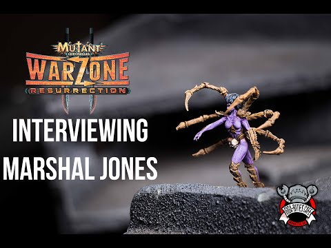 Interview with Marshall Jones, Head Designer of Warzone: Resurrection!