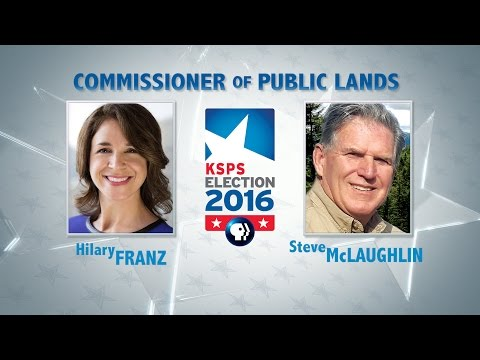 WA Commissioner of Public Lands Debate
