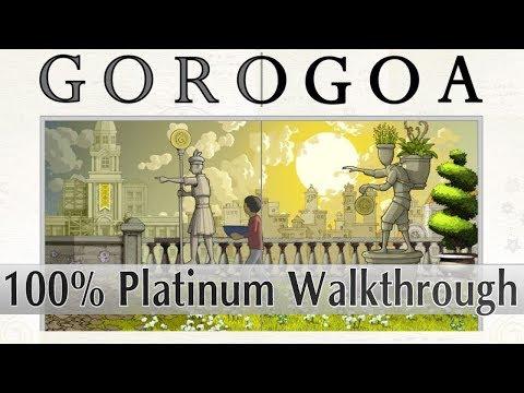 GOROGOA Platinum Walkthrough - 100% Trophy & Achievement Guide - Easy 1 hour Platinum/1000Gamerscore