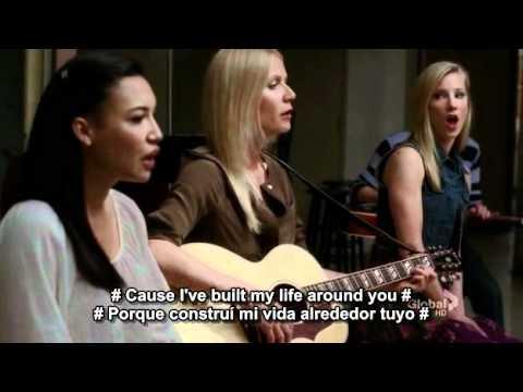 Landslide Glee video HQ -subtitulado en ingles y español