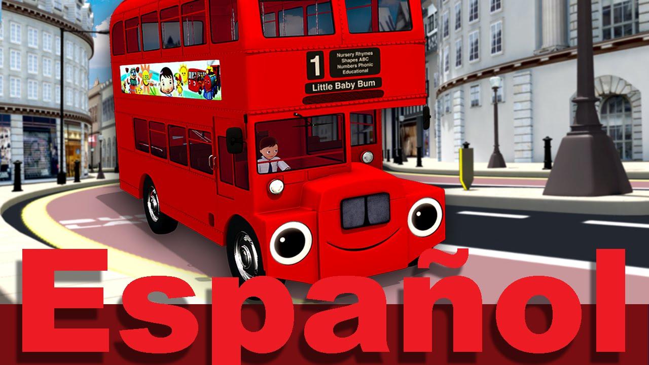 Las ruedas del autobús   Parte 6   Canciones infantiles ...