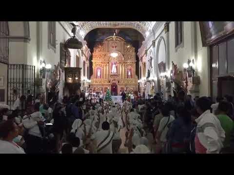 Encuentro de Pesebres: la lluvia postergó la actividad y la fiesta se trasladó a la Catedral