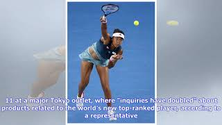Naomi Osaka's Aussie win serves an ace for Japan tennis goods