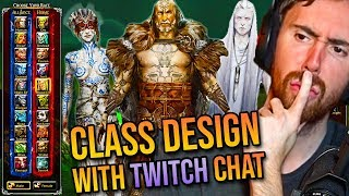 Asmongold Designs New Classes For The Next Wow Expansion W Twitch Chat