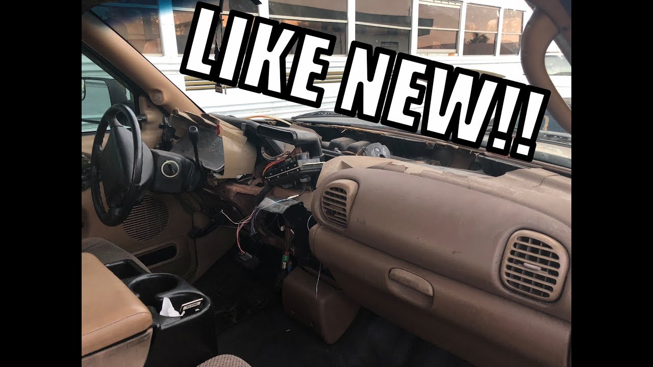 10 dodge ram dash repair diy  [ 1280 x 720 Pixel ]