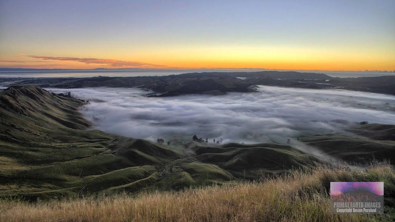 zealand landscapes timelapse