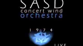 Puszta: Four Gipsy Dances movement II. - Jan van Der Roost (Sasd Concert Wind Orchestra live)