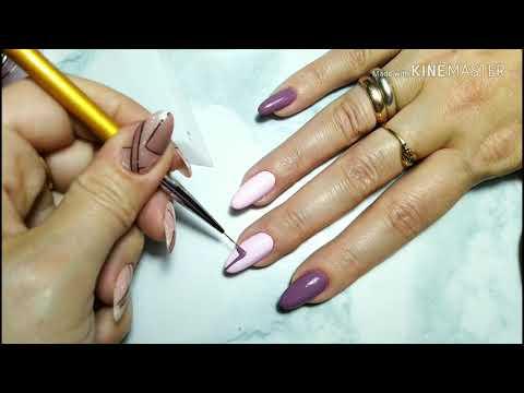 Осенние дизайны ногтей видео