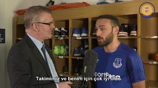 Cenk Tosun'la Everton Show da yapılan İngilizce Röportaj (Türkçe Altyazılı)