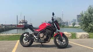 2017 Honda CB500F mods
