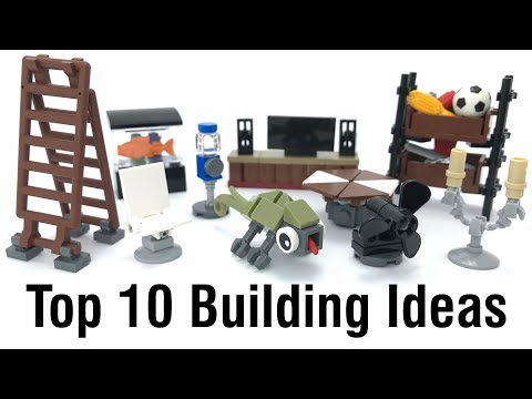 Top 10 Easy & Interesting Lego Building Ideas Anyone Can Make #6