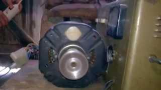 test moteur de machine a laver