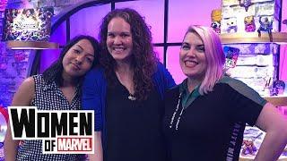 Mackenzie Cadenhead Talks Comic Books and Literacy | Women of Marvel podcast