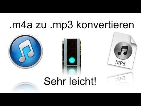 .m4a zu .mp3 konvertieren