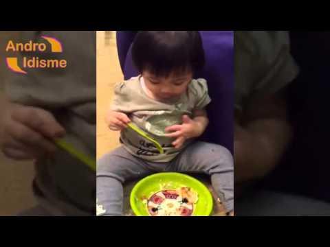 Asry Lucu Saat Lagi Makan (Anak Anang dan Ashanty)