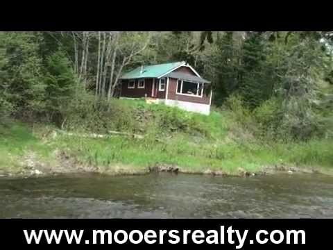 cottages on waterfront sale cottage real sibley estate for maine canaan pond