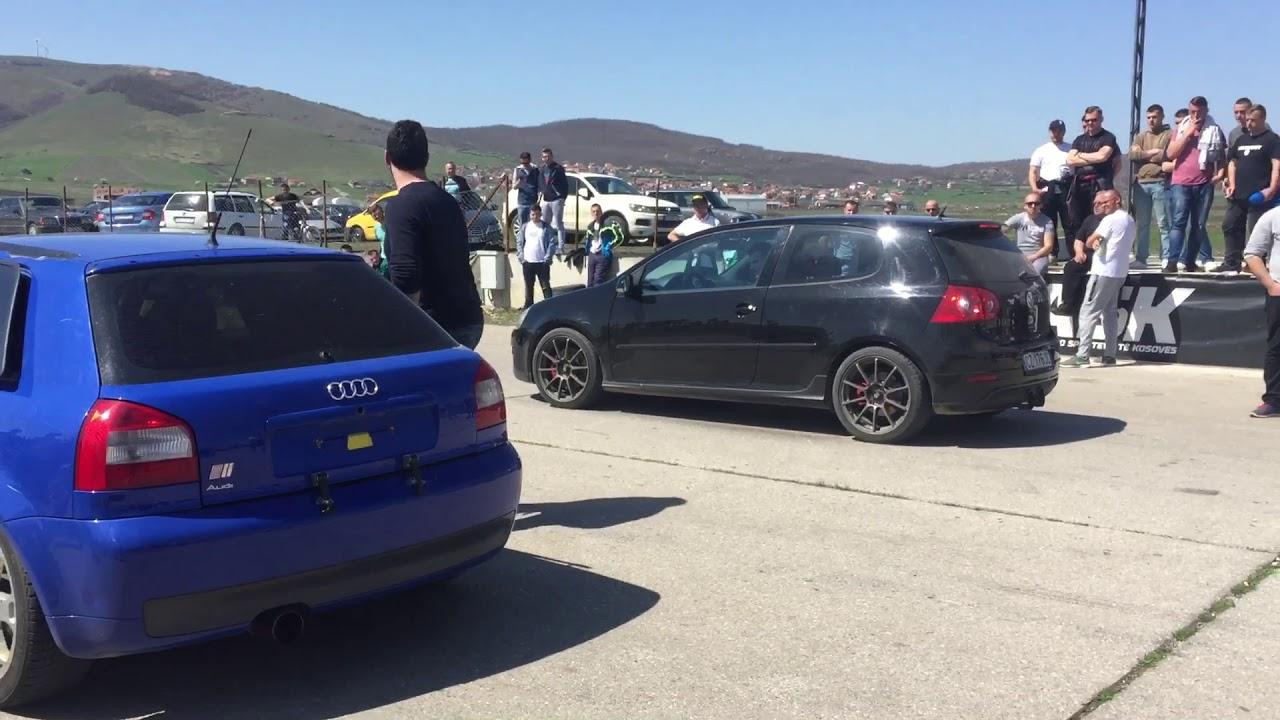 Audi S3 vs Golf 5 GTI - YouTube