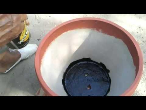 Macetas de cemento ok 1 youtube - Macetas de cemento ...