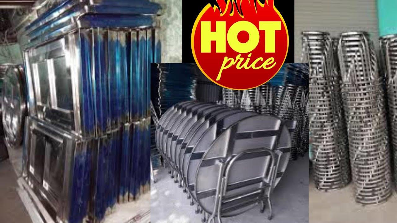 địa chỉ sản xuất Bàn ghế INOX Bắc Ninh  Bàn ghế INOX nhà hàng, Bàn ghế quán ăn, Bàn ghế giá rẻ Bắc n