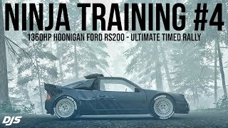 NINJA TRAINING #4 - 1350hp Hoonigan RS200 - Forza Horizon 4