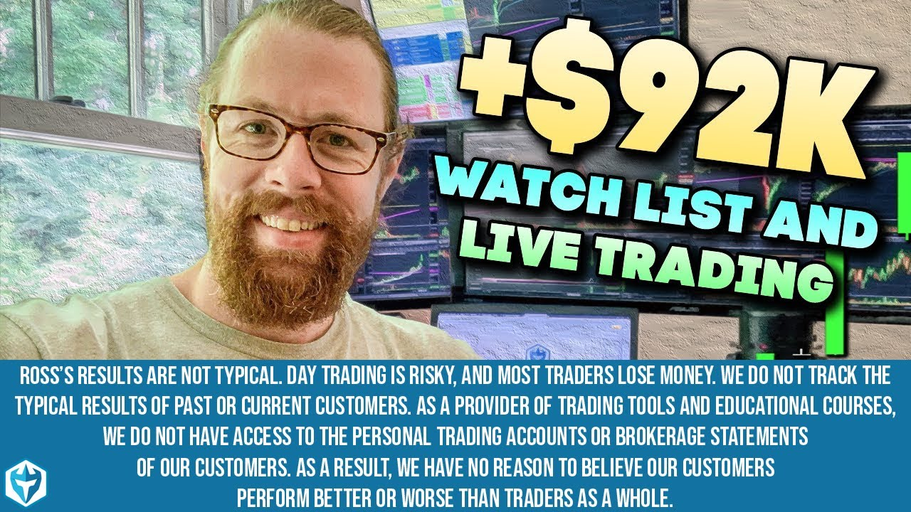 +$92k LIVE Day Trading on MONDAY 8/10/2020 $MCRB $HOTH $OMER $IBIO