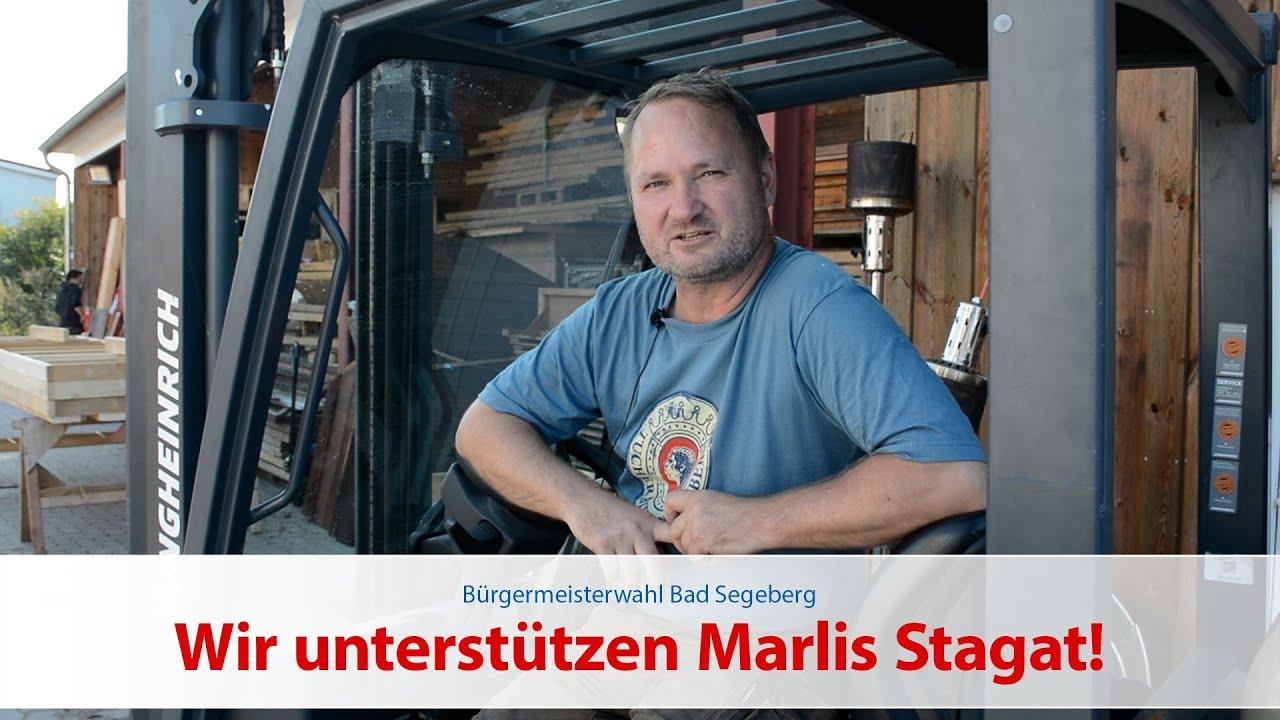 Paul Griese unterstützt Marlis Stagat