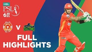 Full Highlights | Islamabad United vs Multan Sultans | Match 3 | HBL PSL 6 | MG2T