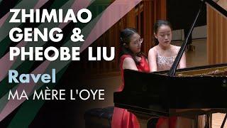 Zhimiao Geng and Pheobe Liu perform Ravel Ma mère l'Oye