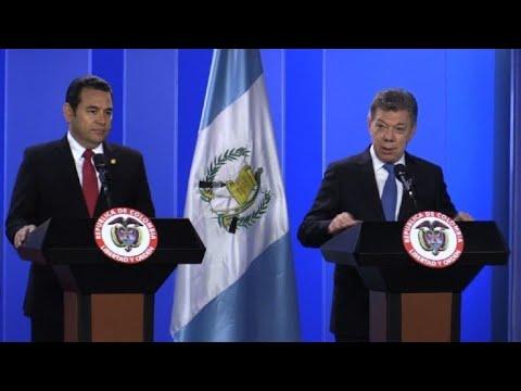 Guatemala planea adquirir equipos navales de Colombia