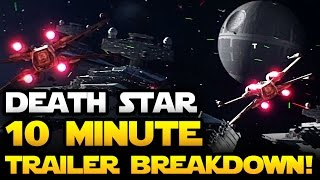 STAR WARS BATTLEFRONT Death Star Trailer 10 Minute Breakdown, Analysis and Review! | Star Wars HQ