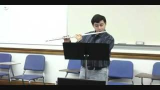 Youtube Symphony Audition [Tan Dun] flute 1 Thumbnail