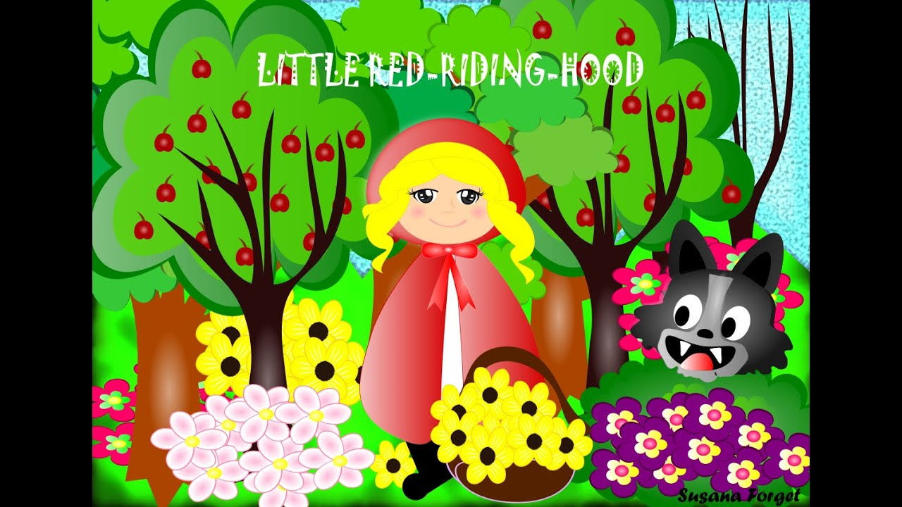 Audiolibros En Ingles Con Texto Little Red Riding Hood Caperucita Roja Audio Inglés Texto Inglés Español