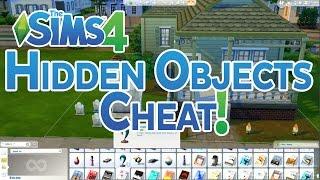 The Sims 4 Hidden Objects Cheats