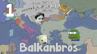 Victoria 2 HFM multiplayer - Balkanbros 1