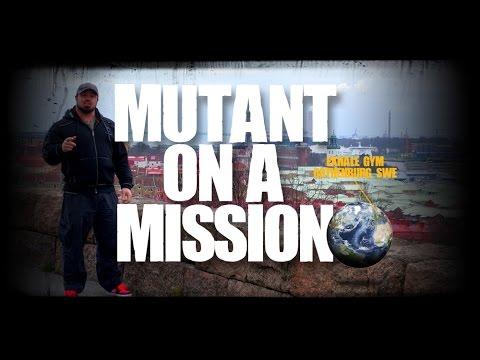 Exhale Gym - Gothenburg, Sweden - Mutant On A Mission #3