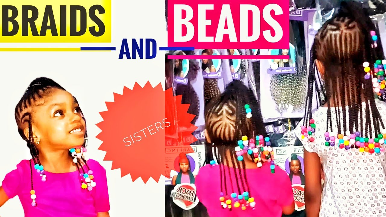 Little Girls Hairstyles With Beads Natural Hairstyles For Kids Little Girl Hairstyles Black Youtube