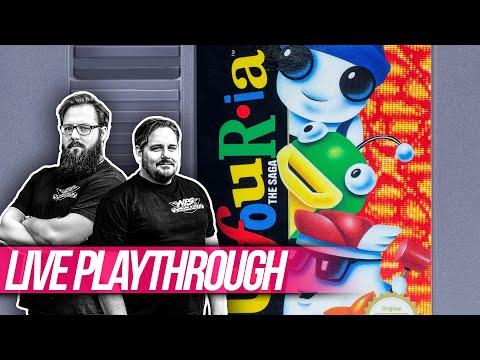 Ufouria: The Saga | Nintendo NES LIVE PLAYTHROUGH | NES Commando Action